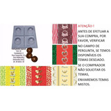 Kit 5 Formas E 500 Embalagens Para Trufas
