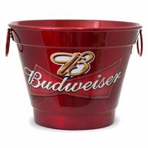 Balde De Gelo Personalizado Cerveja Budweiser.