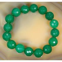 Pulseira Bracelete Jade Imperial 10mms. - 7,5 Polegadas