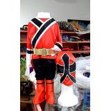 Disfraz Traje Power Ranger Samurai