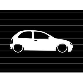 Adesivo Corsa Wind Hatch Rebaixado Suspensão Acessorio