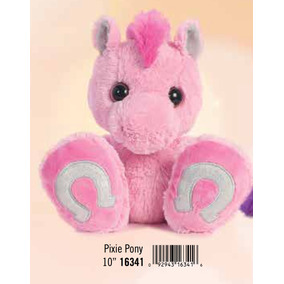 Caballo Pony Bebe Taddle Toes Peluche Aurora Original 25 Cm