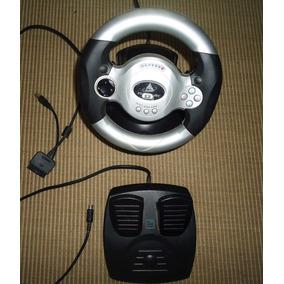 Volante Speed Racer - Clone Para Play Station Ii E Pc