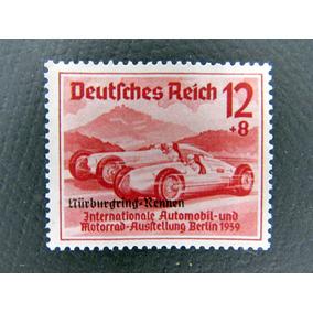 Selo Alemanha Reich C/sob Novo Tema Carro De Corrida 1939