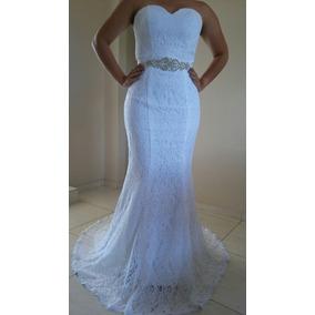 Vestido De Noiva Debutante Rendado
