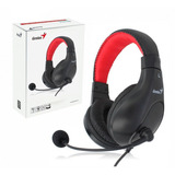 Auriculares Genius Hs-520 Microfono Gamer Skype Pc Notebook
