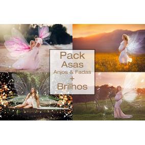Backdrops Digital Newborn+ Efeitos + Pack De Asas+sparkles