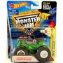 Monster Jam Grave Digger 100 % Mattel Hot Wheels