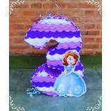 Piñata Numeral Princesa Sofia