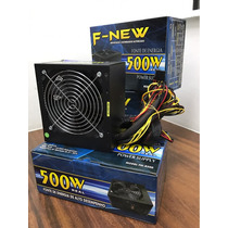 Fonte Gamer Potência Real 500 Watts - Pronta Entrega!