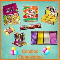 Combo Golosinas + Bolsitas Para Cumpleaños - Envio Sin Cargo