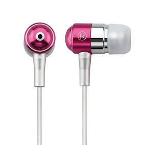 Fone De Ouvido Auricular C/ Microfone Rosa Ph061 Multilaser