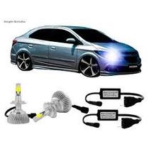 Kit Par Lampada Hb3 9005 Xenon Super Led 7000k Drl