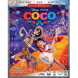 Coco Blu-ray + Dvd Nuevo Original Importado