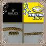 Esclava Y Anillo Rolex Oro Laminado 24 K Envío Gratis