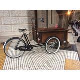 Alquiler Bicicleta Food Bike Triciclo Tres Ruedas Foodtruck