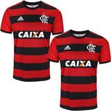 2 Camisas Do Flamengo 2018 Uniforme 1 E 2 Blusa Oferta 40%