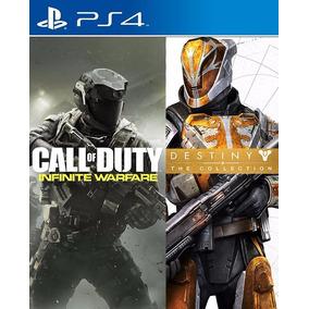 Nfinite Warfare + Destiny The Coleccion Español Digital Ps4