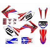 Kit Adesivo Moto Cross Trilha Honda Crf230 2015 Mt004