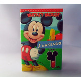 Mini Libro Para Colorear Mickey Minnie Mouse Cotillon Piñata