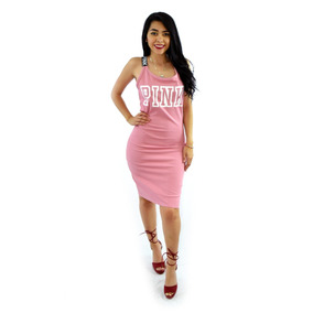 Vestidos Casuales Sexys Cortos Dama Juveniles Rosa Uynn04809
