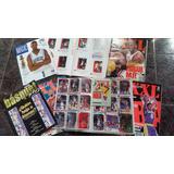 1 Albun De Basquet + 100 Figuritas Upper Deck +5 Revistas