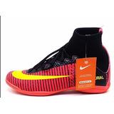 Tenis Chuteira Futsal Botinha Nike Mercurial Cano Alto