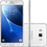 Smartphone Samsung Galaxy J7 Metal 16gb 13mp Branco Vitrine
