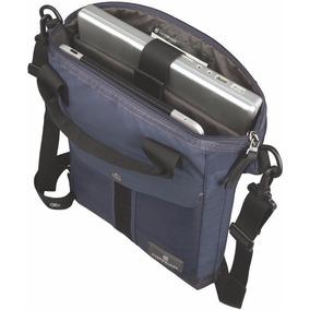 Bolso Victorinox Slimline Vertical Laptop Tote Azul
