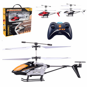 Mini Helicóptero De Controle Remoto 3 Canais Pegasus Com Nf