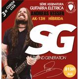 Enc Guitarra Sg 013 Andreas Kisser Ak13h