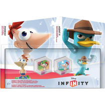Disney Infinity Box Set Phineas And Ferb Toy Box Pack
