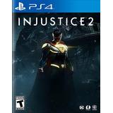 Injustice 2 Ps4 Nuevo Fisico Sellado Español
