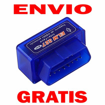 Envío Gratis Escaner Bluetooth Elm327 Obd2