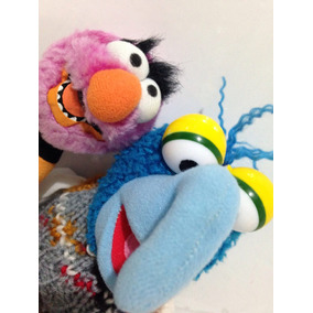 Gonzo Y Animal 20 Cm Peluches Usados 98pl