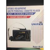 Walkman Audífonos Retro Casete