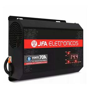 Fonte Jfa 70 A Sci Carregador Bateria Inteligente 12v