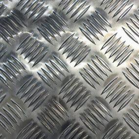 Chapa Aluminio Lavrada Xadrez (leia O Corpo Do Anuncio)