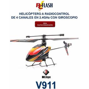 Helicóptero Radiocontrol 2.4g Wl Toys V911 - Principiantes