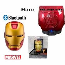 Iron Man Casco Bocina Bluetooth Ihome Escala 1:2 Edicion Lim