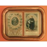 Imágenes Religiosas Papel Encaje Finales Siglo 19