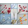 Pimpollos Hermosas Flores De Porcelana De Variados Colores