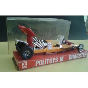 Auto Politoys Dragster Drago E 1/43 Made In Italy Con Caja