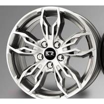 Jogo Roda New Fiesta Aro15 4/5 Furos Ka Focus Ford K61 Rs3