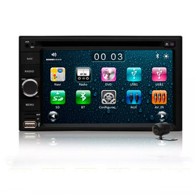 Central Multimidia Universal Voolt Dvd 2 Din Bluetootht Gps