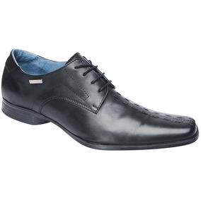 Zapato Stone Acordonado Con Detalle Lateral