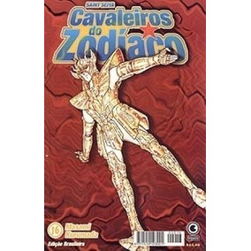Manga Cavaleiros Zodiaco - Masami Kurumada - Conrad - Nº 16