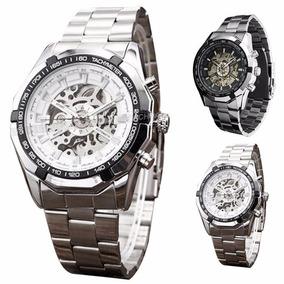 Relógio Importado Winner Skeleton Automático