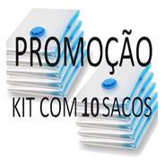 10 Sacos De 80x60cm Sacos De Armazenamento A Vacuo  Promoção