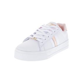 Zapato Casual Mujer Tellenzi Blanco*oro Rosa 08